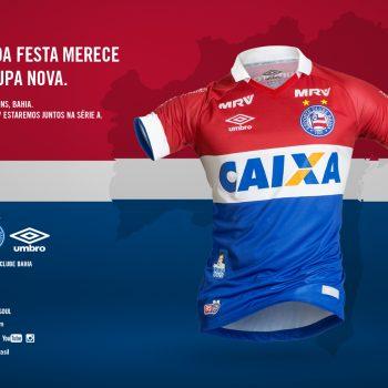 Camisa Nova Esporte Clube Bahia